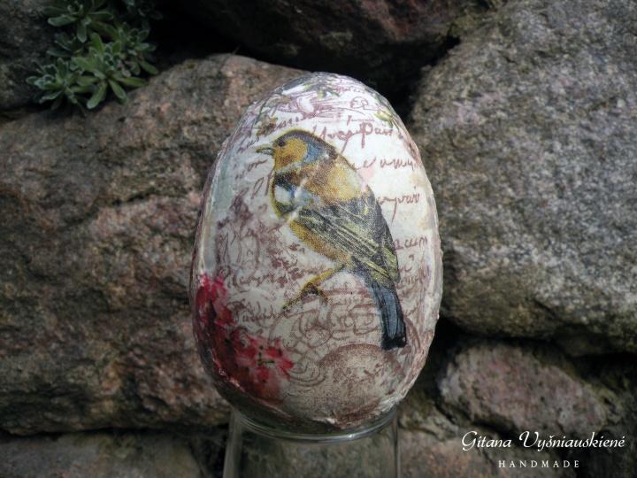 """Kiaušinis """"Paukščio giesmė"""""""