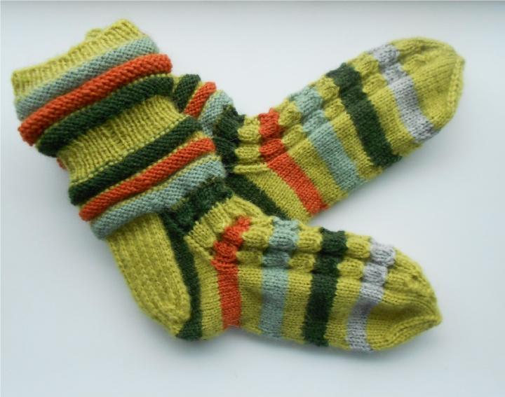"""Kojinės """"Žalios kaip varlytės"""""""