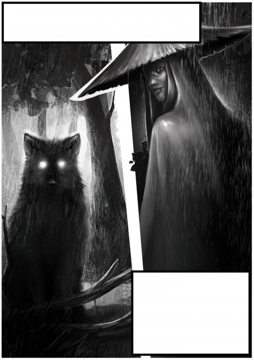 Komikso iliustracija
