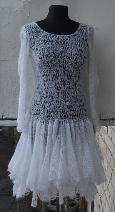 Megzta vestuvine suknele