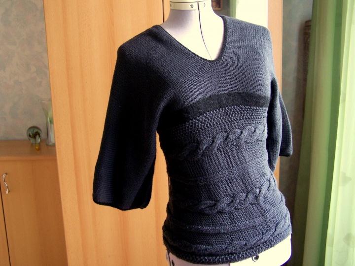 megztinis plačiom rankovėm