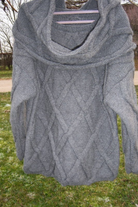 Megztinis su snodu