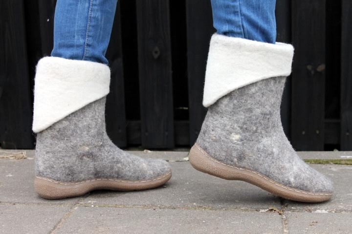 Natūralios lietuviškos vilnos batai 39 dydis