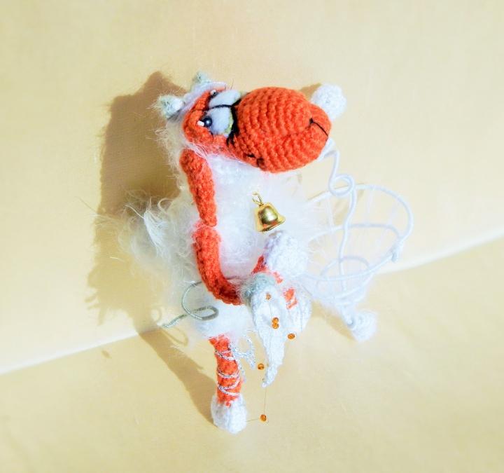 Nerta Avytė Balerina / Nertas žaislas figurėlė / Dovana