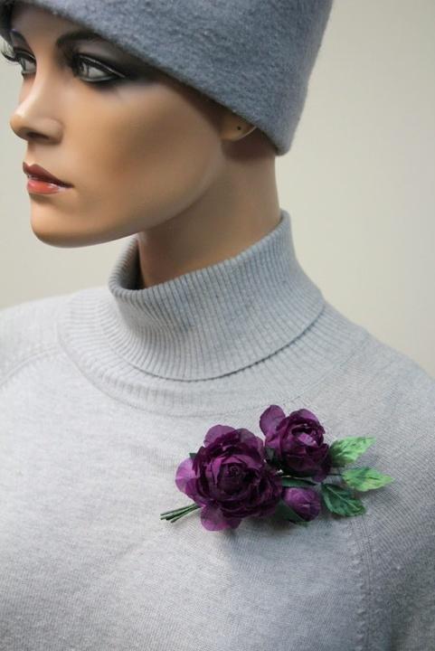 Šilko gėlės desertinės rožytės