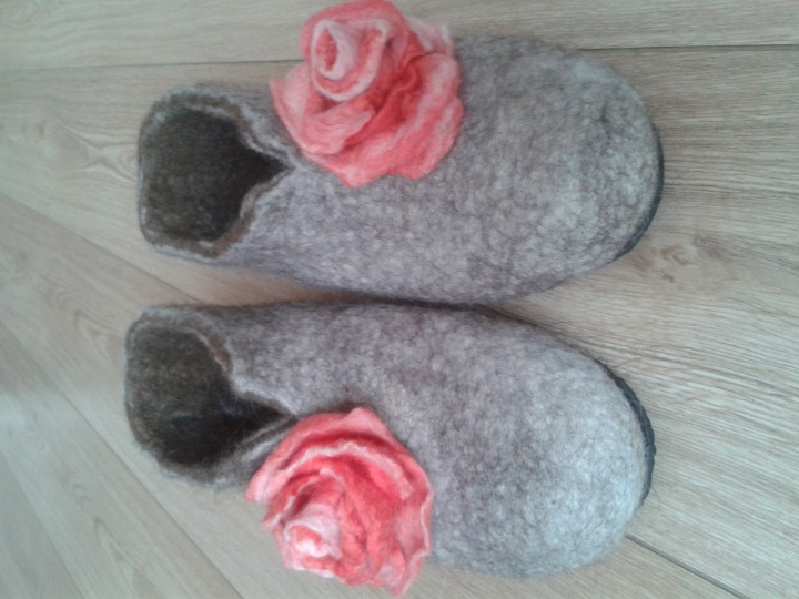 Šlepetės Rožė