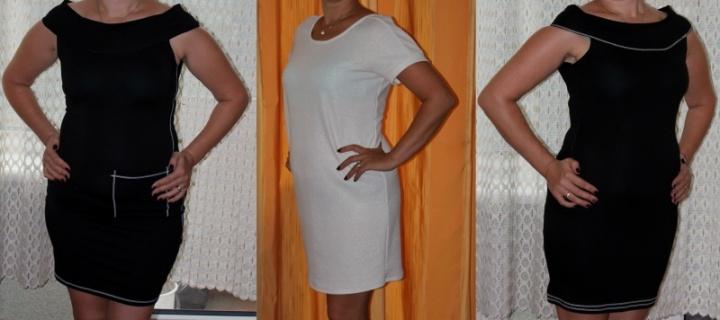 ta pati panelė tik kita suknelė