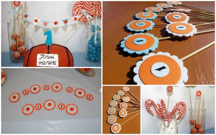 Vaiku gimtadienio dekoracijos