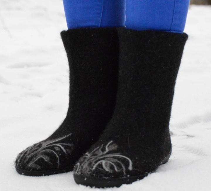 Veltinio batai iš lietuviškos vilnos