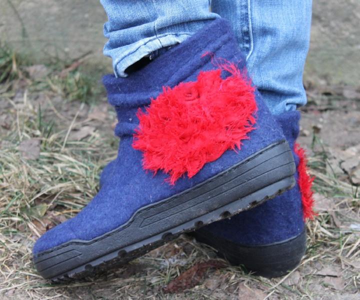 """veltinio batai """"du viename"""", pėdos ilgis viduje 26,5 cm"""