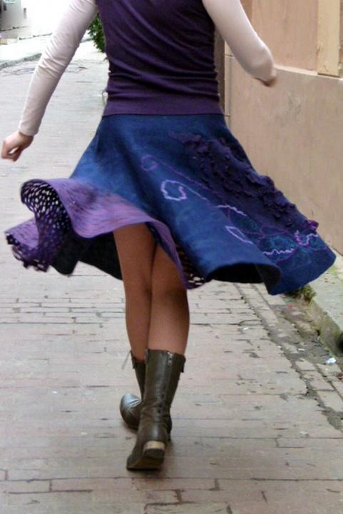 "veoletinis veltas sijonas ""Lekiam"""