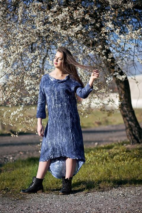 Besiūlė suknelė - tunika