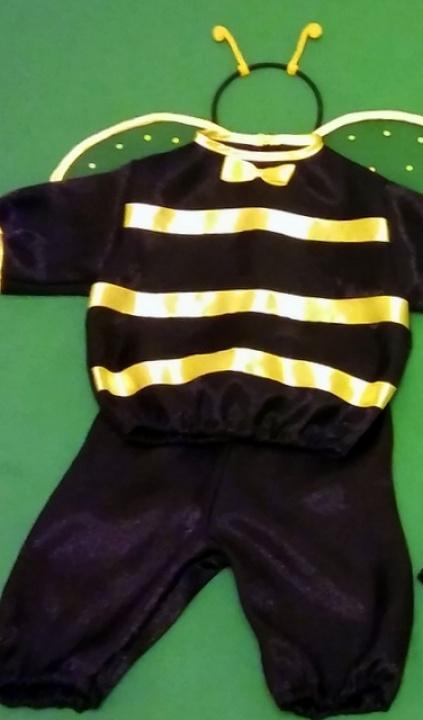 Bitino, bitinuko, bitės kostiumas berniukui