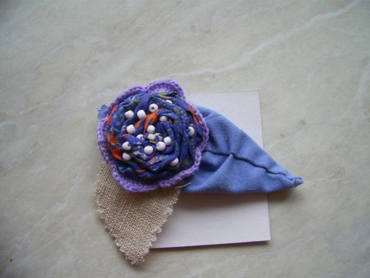 Gėlė iš tekstilės