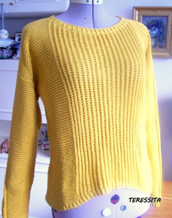 Geltonasis megztinukas