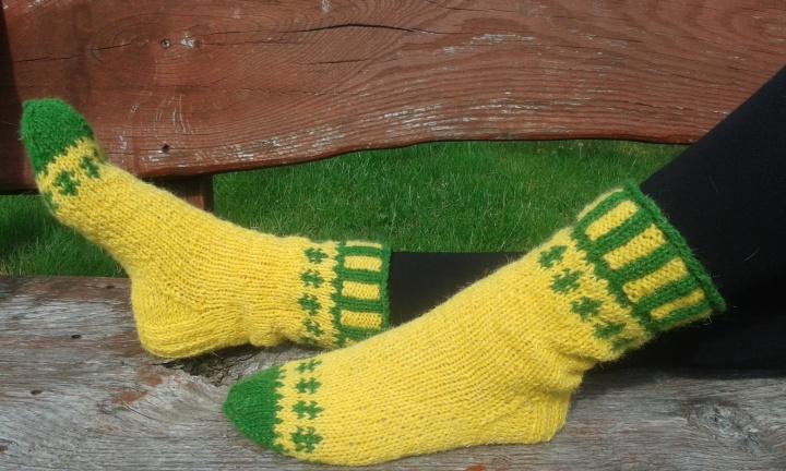 Geltonos kojinės