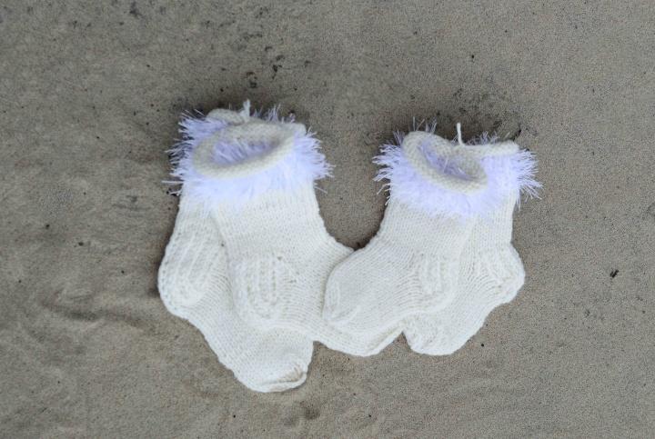GP-654 Vaikiškos vilnonės kojinytės
