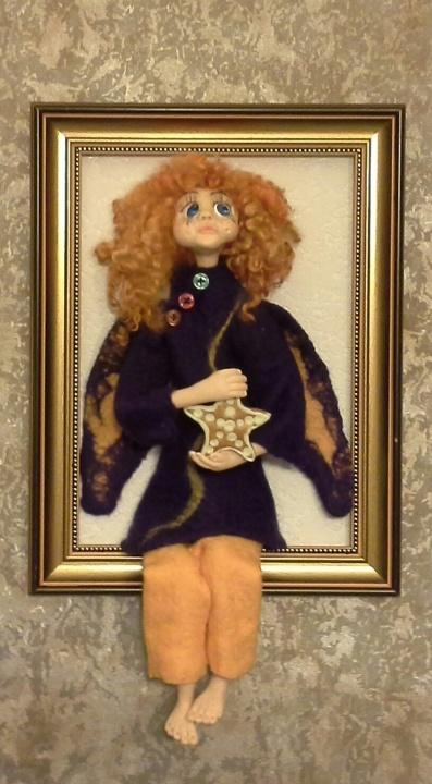 Interjero lėlė angelas Dorotėja