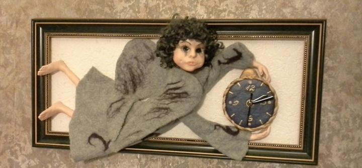 Interjero lėlė angelas Izidorius