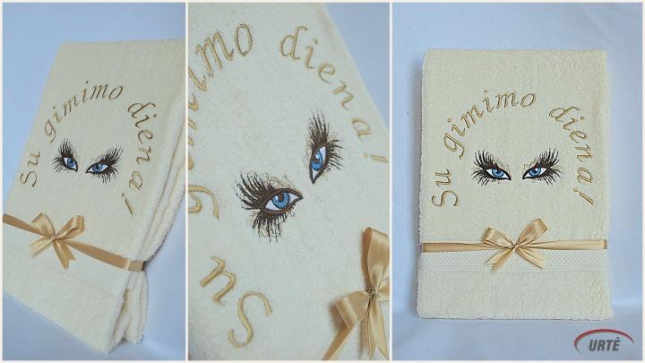 Kerinčios akys - dovana gimtadienio proga merginai - originali dovana