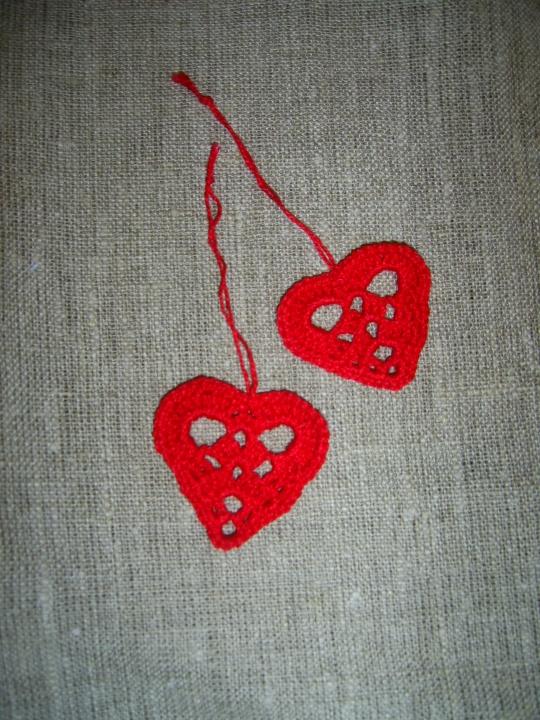 Maža raudona širdelė tau