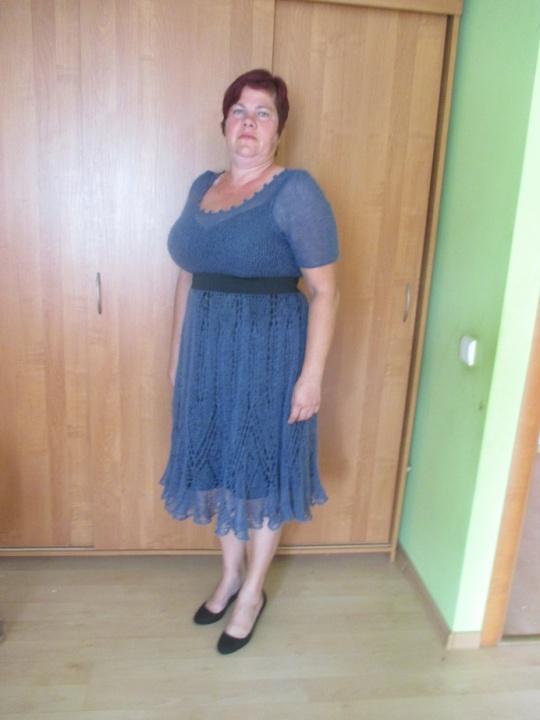 Megzta mocherinė suknia