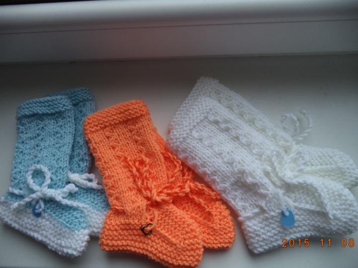 megztos kojinaitės kūdikiams