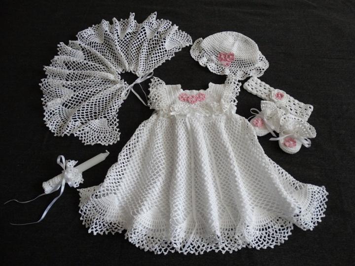 nerta krikštynų suknelė