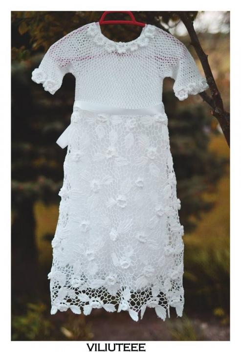 nerta suknele iš medvilnės