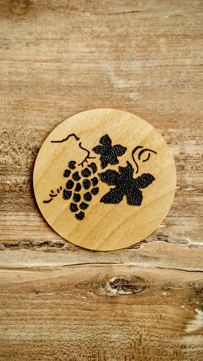 Padėkliukas - vynuogių kekė