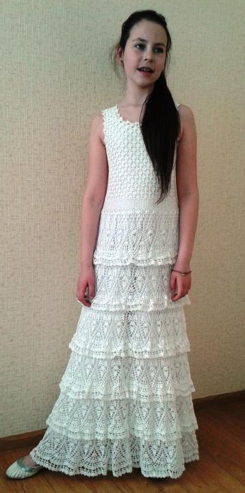 Pirmos komunijos suknelė