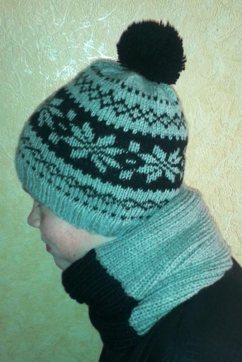 Raštuota šilta kepurė 3