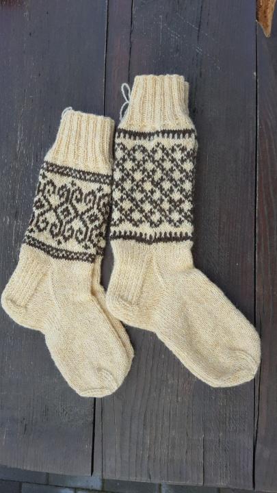 rastuotos vilnones kojines