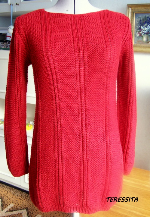 Raudonasis megztinukas