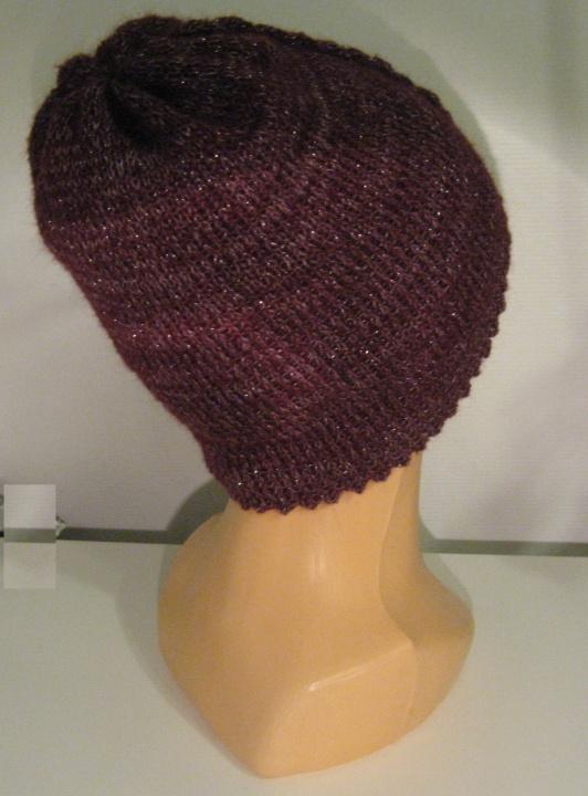 Šilta kepurė Bordo