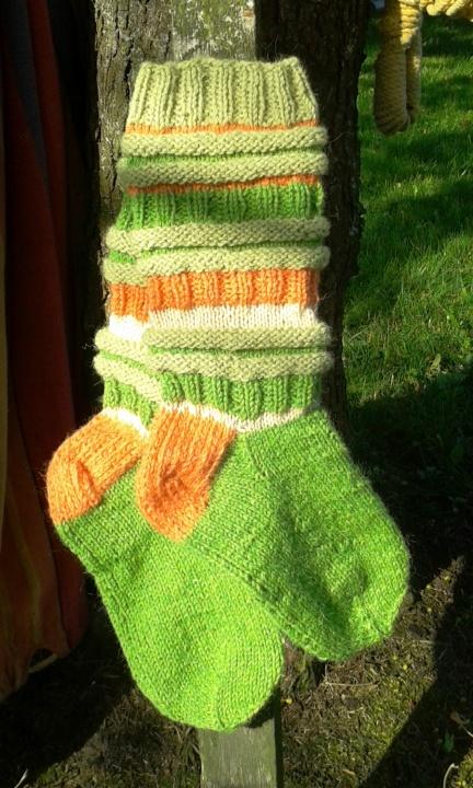 Šiltos vilnonės kojinės