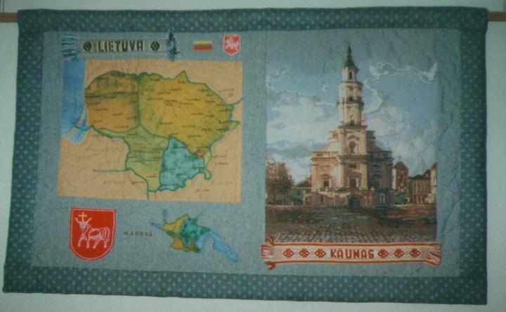 """Skiautinys """"Kaunas"""""""