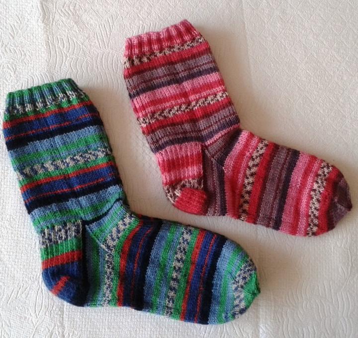 Smagios spalvotos kojinės