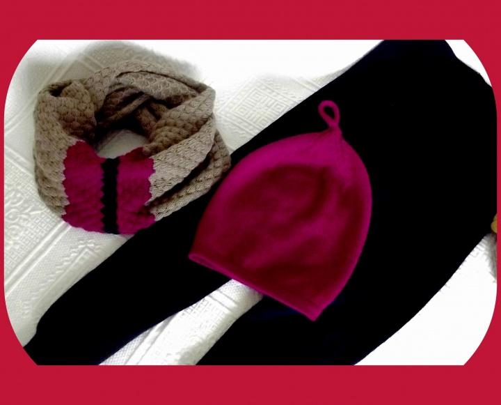 Snoodas, kepurės ir kelnytės