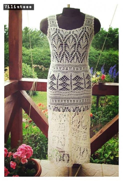suknelė iš lino