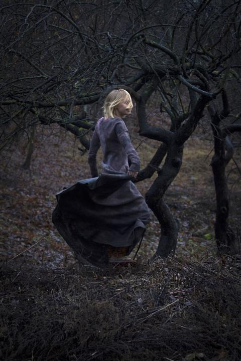 """Suknelė """"Žemė rudenį"""""""