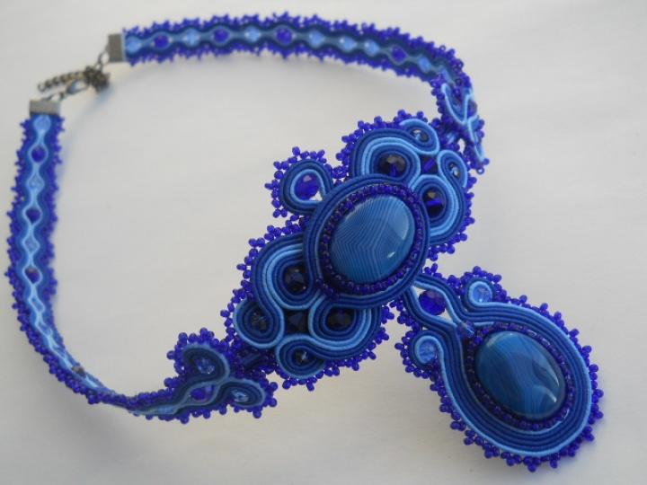 """Sutažo komplektukas """"BLUE"""""""