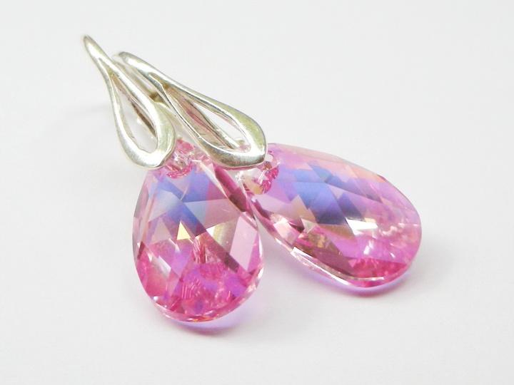 Swarowski kristalų auskarai