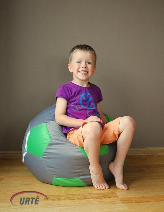 Vaikiškas sėdmaišis - futbolo kamuolys