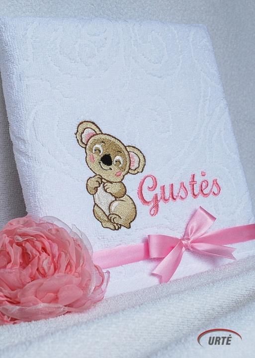 Vardinis vaikiškas rankšluostis - Koala - šypsiukas