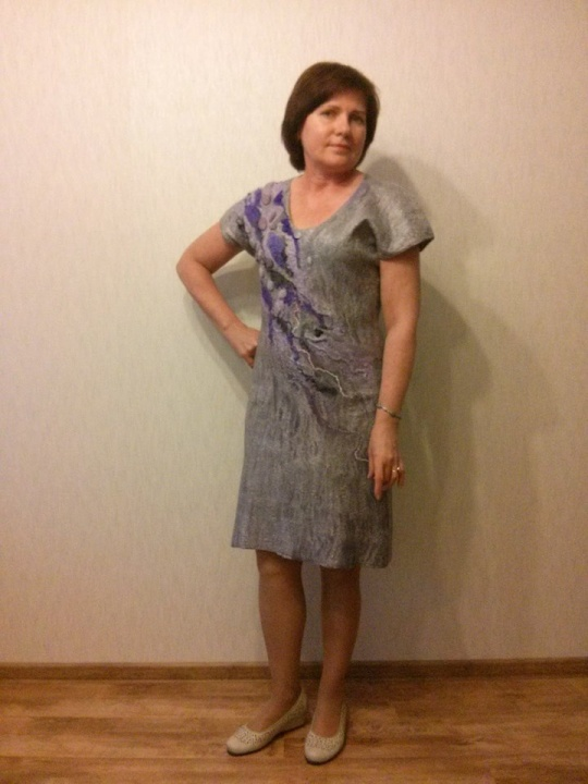 Velta suknelė ''pilkutė''