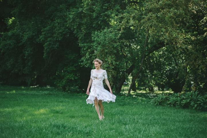 Velta suknelė nuotakai