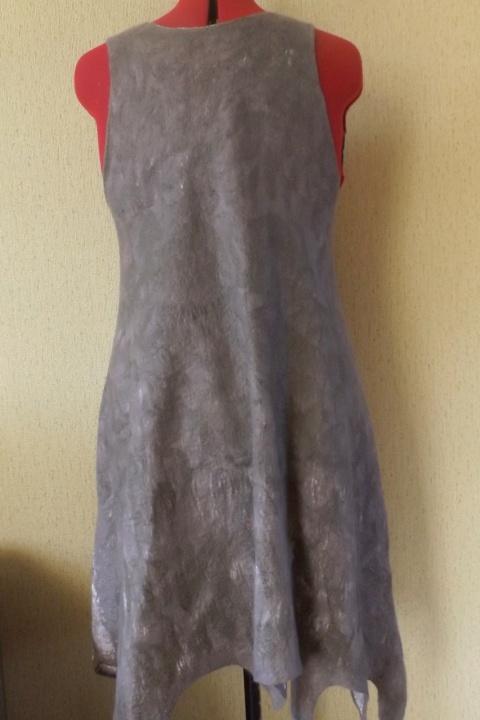 veltas besiūlis sarafanas-suknutė