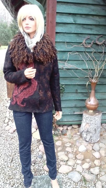 Veltas rudens švarkelis