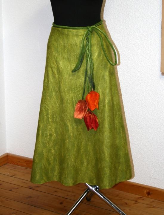 Veltas sijonas ,,Tupių žiedai ,,